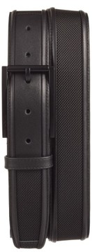 Tumi Men's Leather & Ballistic Nylon Belt