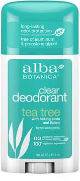 Alba Tea Tree Deodorant Stick by 2.0 oz Stick)