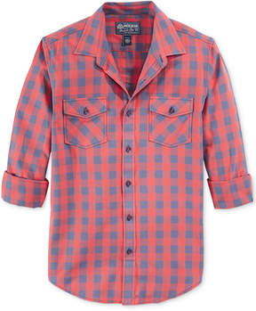 American Rag Men's Banarama Checked Shirt, Created for Macy's