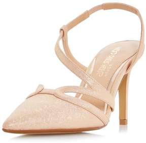 Head Over Heels *Head Over Heels by Dune Nude 'Chloe' High Heel Sandals