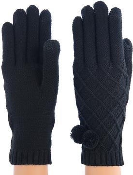 Shiraleah Black Prudence Gloves