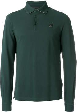 Hackett logo patch polo shirt