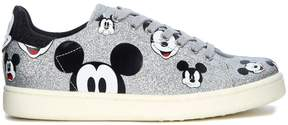 Moa Mickey Mouse Silver Glitter Sneaker