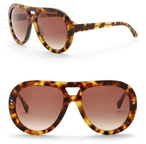 Stella McCartney Women's 55mm Aviator Sunglasses