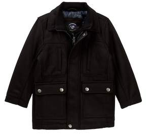 Urban Republic Mix Media Military Jacket (Little Boys)
