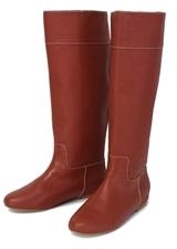 Pour La Victoire Saddle Brown Orville Knee High Boots