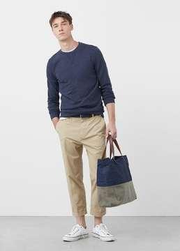 Mango Outlet Cotton sweatshirt