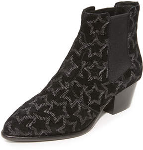 Ash Hope Star Leather Booties