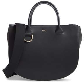 A.P.C. Sac Marion Leather Tote