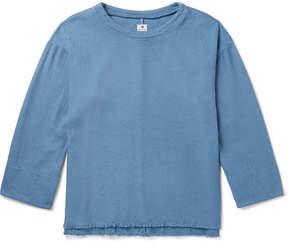 SASQUATCHfabrix. Sashiko-Stitched Cotton Sweatshirt
