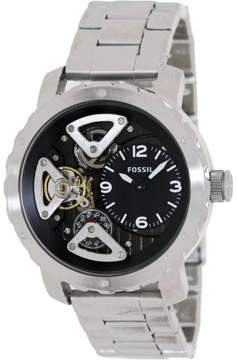 Fossil Nate ME1132 Black Dial Watch