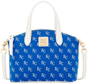 Dooney & Bourke Kansas City Royals Ruby Mini Crossbody Satchel - BLUE/WHITE - STYLE