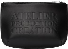 A.P.C. Black Atelier Pouch
