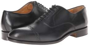 Matteo Massimo 6-Eye Bal Cap Toe Men's Lace Up Cap Toe Shoes
