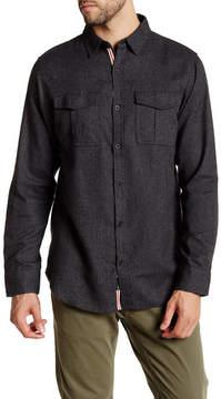Burnside Rooted Herringbone Regular Fit Shirt