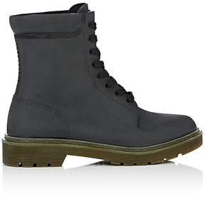 Barneys New York Women's Lace-Up Ankle Rain Boots
