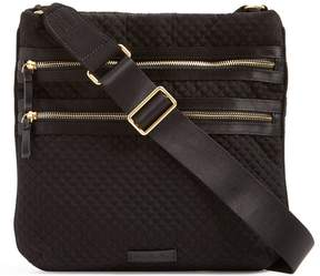 Vera Bradley Iconic Triple Zip Hipster Cross-Body Bag - CLASSIC BLACK - STYLE