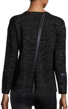 Generation Love Women's Lexi Split-Back Cashmere Sweater