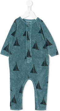 Bobo Choses sail boat pattern romper