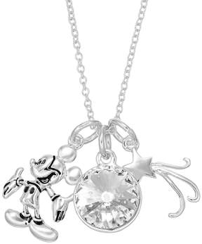 Disney Disney's Mickey Mouse Crystal Charm Necklace