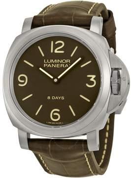 Panerai Luminor Base 8 Days Titanio Mechanical Men's Watch