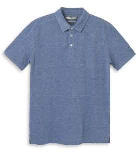 MANGO Heathered Cotton Polo