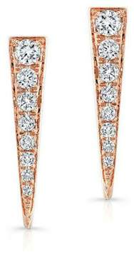 Anne Sisteron Diamond Dagger Earring