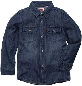Levi's Toddler Boy Barstow Denim Western Shirt