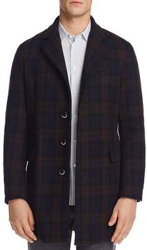 Barena Plaid Topcoat