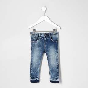 River Island Mini boys acid wash Sid jeans