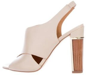 Calvin Klein Collection Cocoon Slingback Sandals w/ Tags