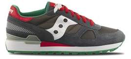 Saucony Men's 2108643 Multicolor Suede Sneakers.
