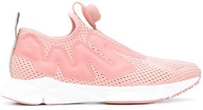 Reebok perforated sneakers