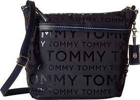 Tommy Hilfiger Hobo Bag for Women Work Nylon