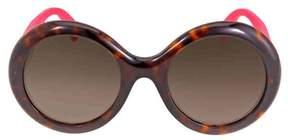 Gucci Round Glitter Pink Sunglasses