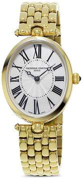 Frederique Constant Classics Art Deco Yellow Gold Watch, 30mm