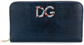 Dolce & Gabbana zip around purse - BLUE - STYLE