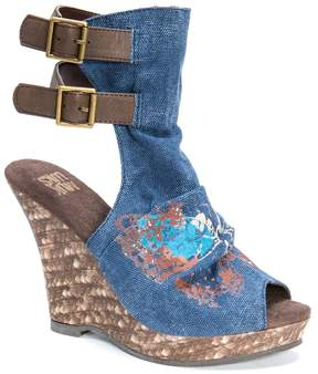 Muk Luks Sage Women's Espadrille Wedge Sandals
