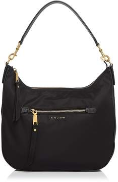 Marc Jacobs Trooper Nylon Hobo - BLACK/GOLD - STYLE