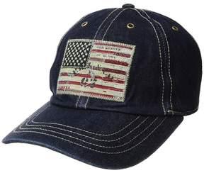 Polo Ralph Lauren Denim Iconic Flag Cap Caps