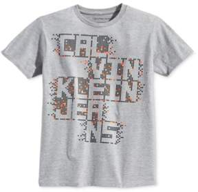 Calvin Klein Boys Pixel Graphic T-Shirt