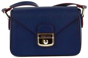 Longchamp Blue Leather Shoulder Bag - BLUE - STYLE