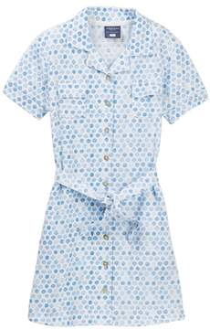 Toobydoo Zoey Watercolor Dot Belted Shirtdress (Toddler, Little Girls, & Big Girls)