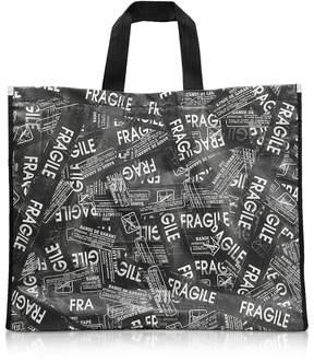 MM6 MAISON MARGIELA Mm6 Maison Martin Margiela Fragile Printed Tote Bag