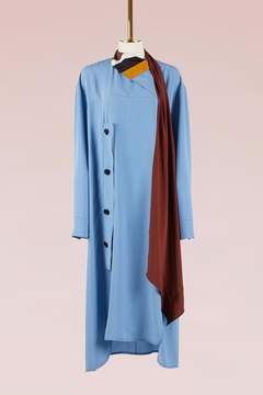 Marni Tie collar long dress