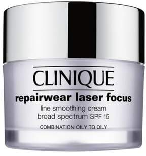 Clinique 'Repairwear' Laser Focus Spf 15 Line Smoothing Cream For Combination Oily To Oily Skin