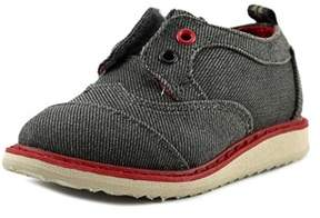 Toms Brogue Round Toe Canvas Oxford.