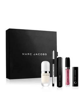 Marc Jacobs Effortlessly Irresistible ; 5-Piece Beauty Bestsellers Collection