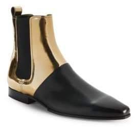 Balmain Artemis Leather Chelsea Boots
