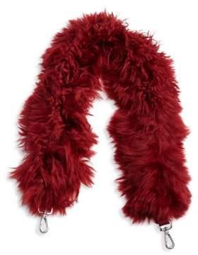 Fendi Leather& Fur Strap